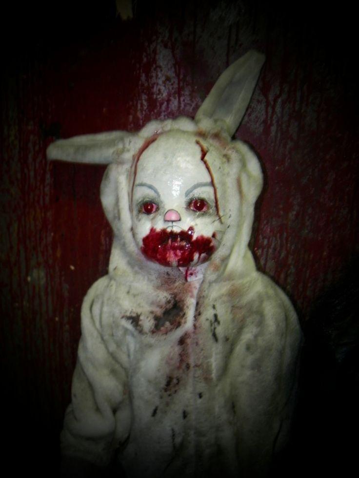 creepy doll halloween costume makeup