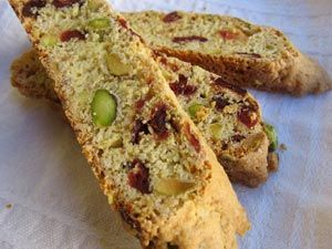 Cranberry Pistachio Biscotti - these were so good! perfect with my ...