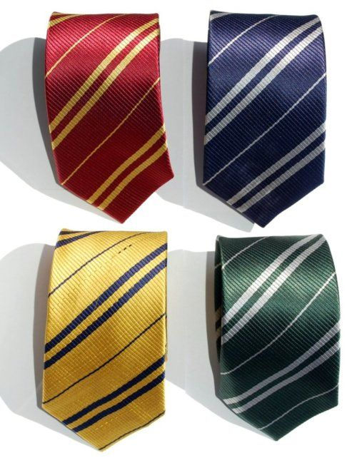 harry potter house ties harry potter