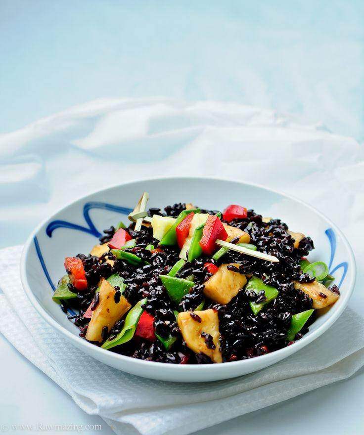 forbidden rice from rawmazing - yummy!
