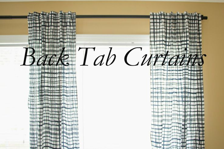 Aztec Print Shower Curtain DIY Tab Curtains