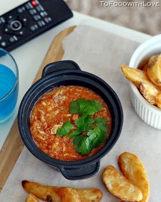 with chili garlic chips espinoso pollo chili or prickly chicken chili ...