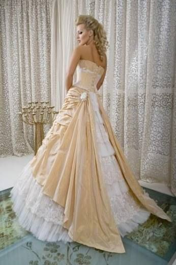 cream colored wedding dresses 109