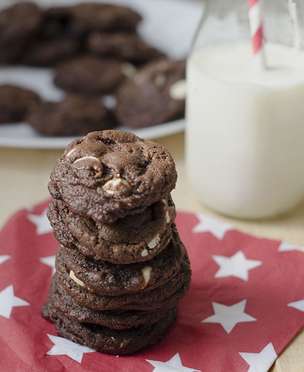 Double Chocolate Espresso Cookie   Fewd   Pinterest