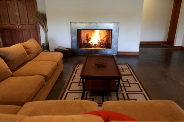Stainless Steel Fireplace Surround Ideas For Our House Pinterest