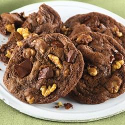 McCormick® Double Chocolate Chunk Mint Cookies | Recipe