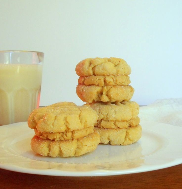 Peanut Butter Sandwich Cookies | Recipes | Pinterest