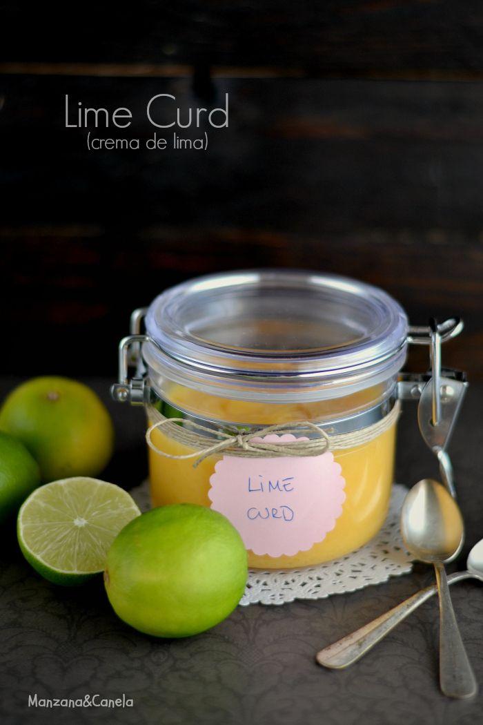 Lime curd o crema de lima | Cremas dulces,siropes,..... | Pinterest