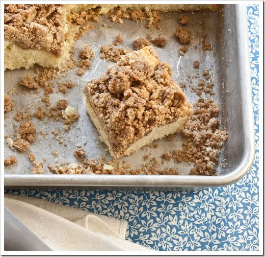 New York-Style Crumb Cake | Carb Loading | Pinterest