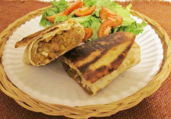 Pumpkin, Rice and Bean Burritos | Food | Pinterest