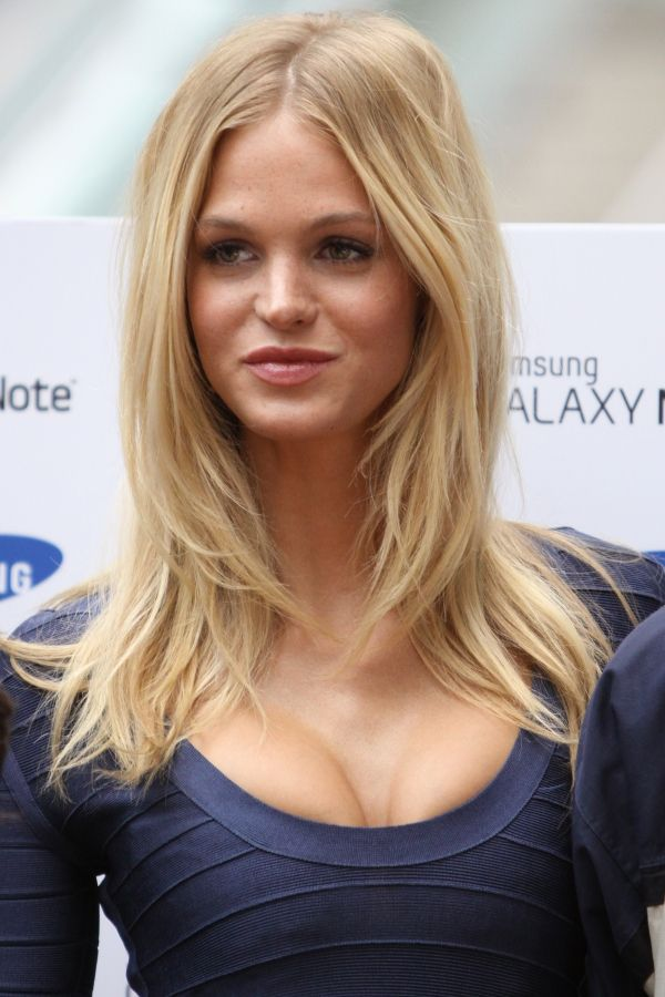 Love the long layers - Erin Heatherton