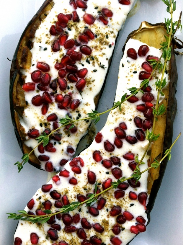 Roasted Eggplant with Buttermilk Sauce | Food and Drink | Pinterest