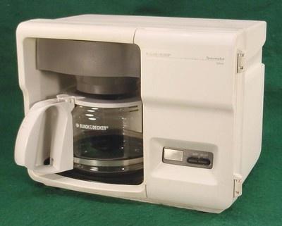 Black & Decker Spacemaker Under Cabinet Optima 12 Cup Coffee Maker