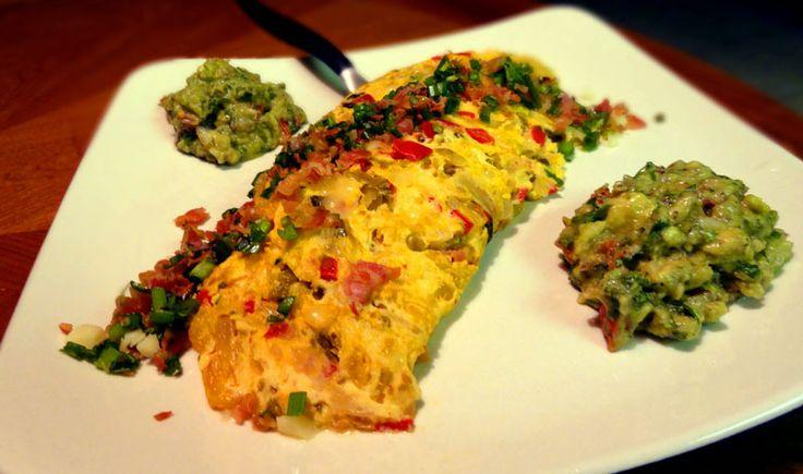 Kimchi and Pancetta Omelette | Eggstacy | Pinterest