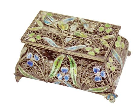 Античный Брелок Box