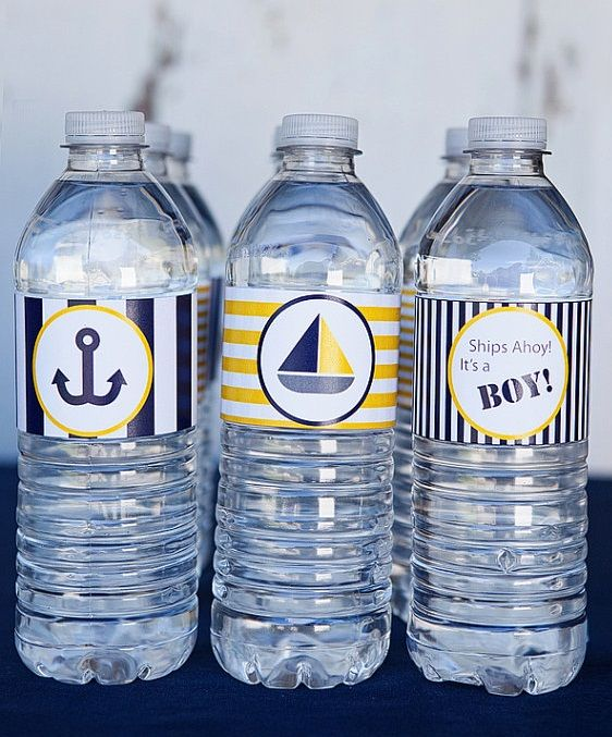 water bottle labels for baby shower 4 baby shower ideas pinterest