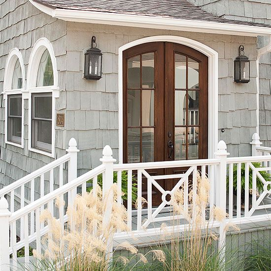 Cottage style front doors for Side doors for houses