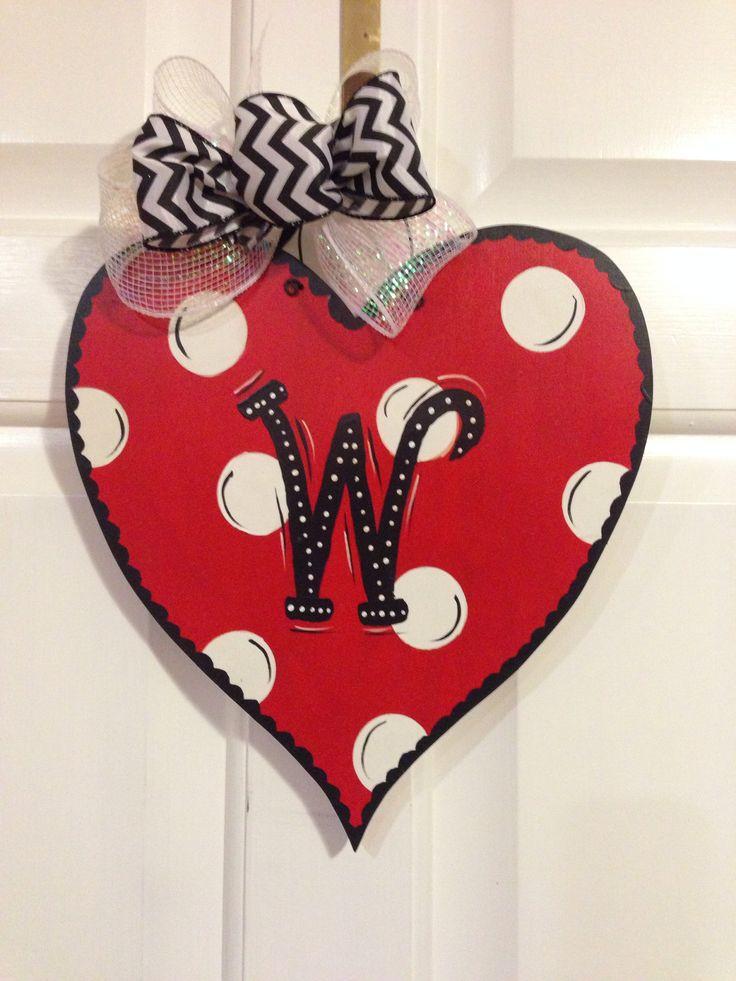 diy valentine's day door decorations