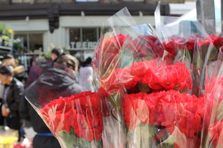 Columbia Road Flower market - a great way to spend a Sunday morning, rummaging for beautiful flowers at pretty decent prices. Get in as early as possible to avoid the crowds.