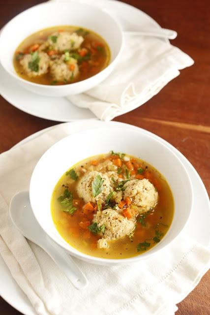 Vegetarian Matzo Ball Soup | Yum | Pinterest