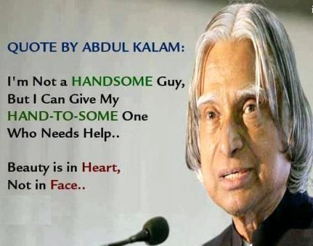 Handsome Abdul Kalam Thoughts & Quotes Pinterest
