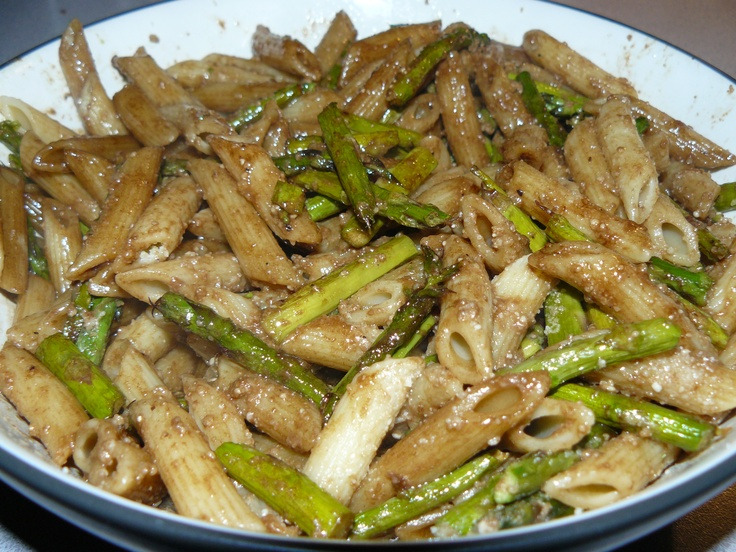 Asparagus & Penne dish - very good. pretty easy to make. get all of ...
