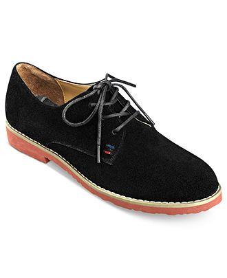 Tommy Hilfiger Honeybee Oxford Flats - Flats - Shoes - Macy's