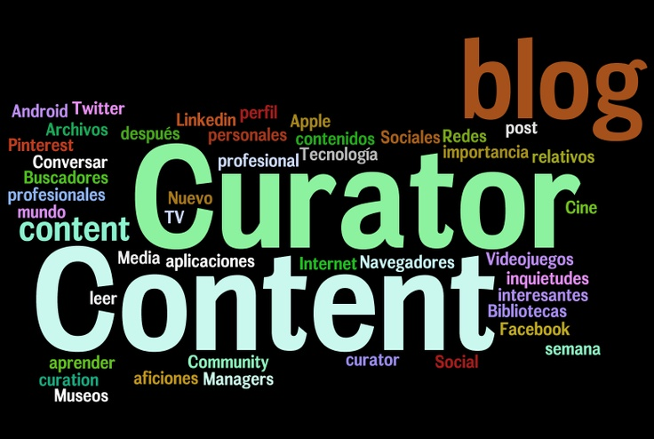 Tagcloud Content Curator