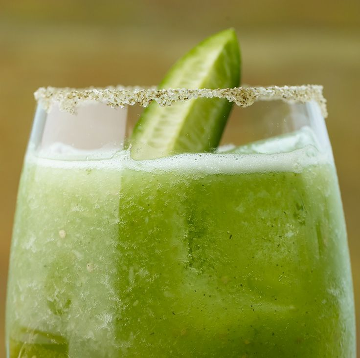 This refreshing twist on a Bloody Mary has a spicy kick from green hot ...