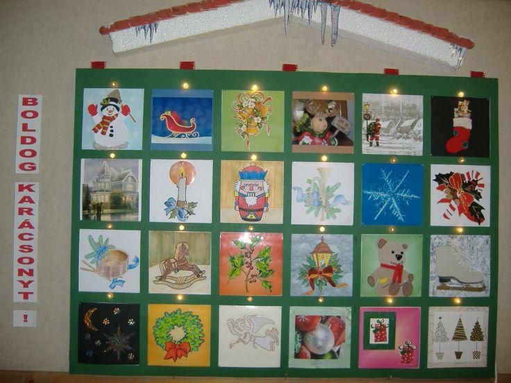 Advent Calendar Bulletin Board : Pin by vicki beth on bulletin boards pinterest