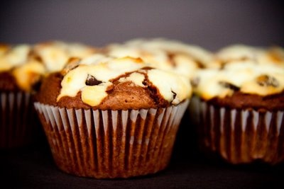 Black Bottom Cupcakes with Goat Cheese; via Cupcake Project.