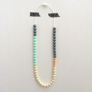 Th best looking teething necklace