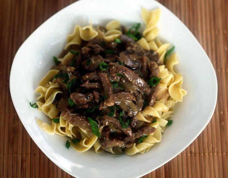 Slow Cooker Beef Stroganoff | Crock Pot | Pinterest
