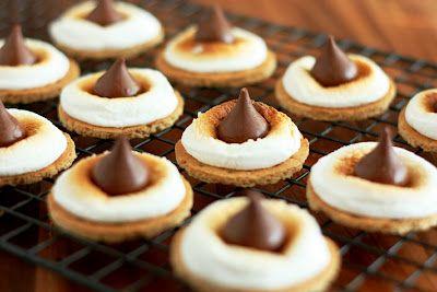 S'more Cookies…. 5 Ways! on http://thebakeryspot.com