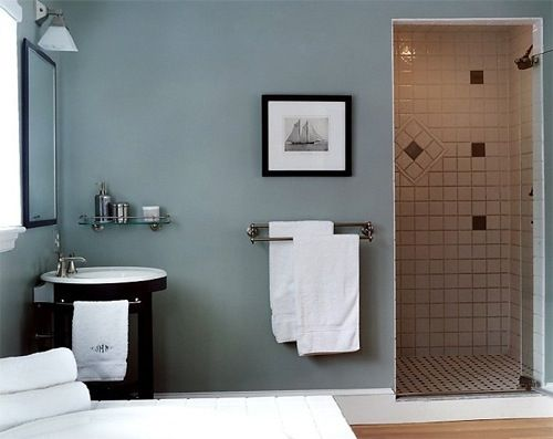 Nice bathroom wall color for the home pinterest for Pictures of nice bathrooms