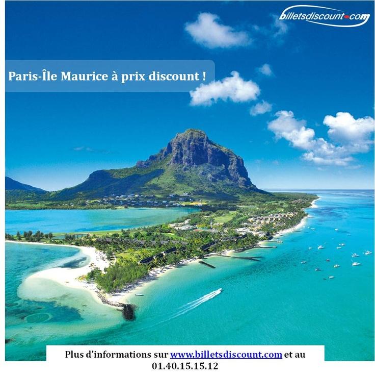Promotion billets d'avion pour l'île Maurice