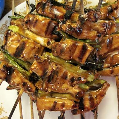 Japanese Skewered Chicken-Yakitori | yummy food | Pinterest