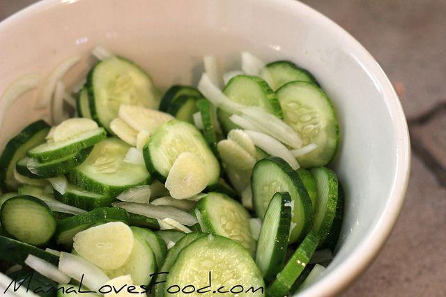 Garlic Dill Refrigerator Pickles. | Favorite Recipes | Pinterest