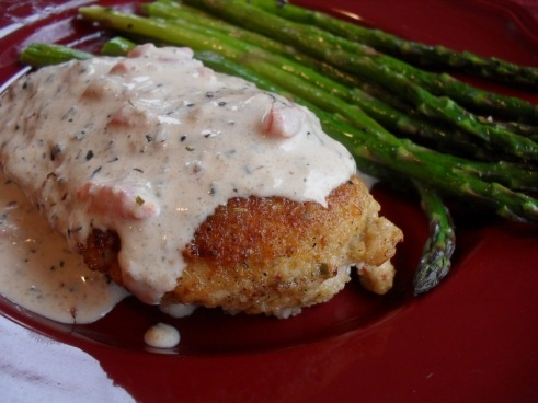 Chicken in Basil Cream Sauce | baking and cooking | Pinterest
