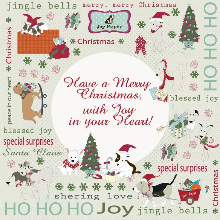 Merry Christmas with Joy