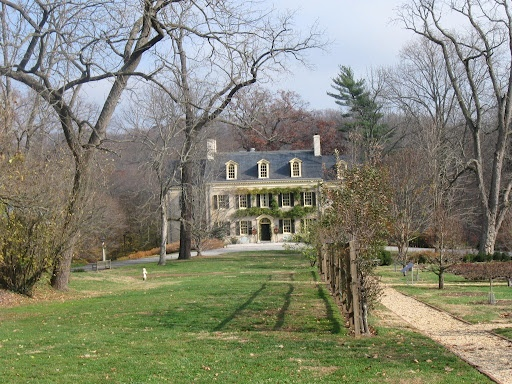 John e dupont estate for Dupont house