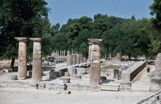 The Temple of Hera - Olympia, Greece  Places I Have Been ...