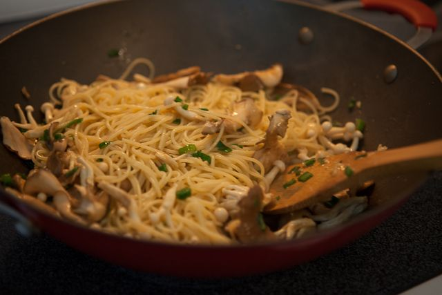 Garlic Noodles with Miso Butter | Steamy Kitchen Recipes