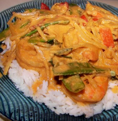 Red Curry Shrimp Recipe!!! My Favorite!