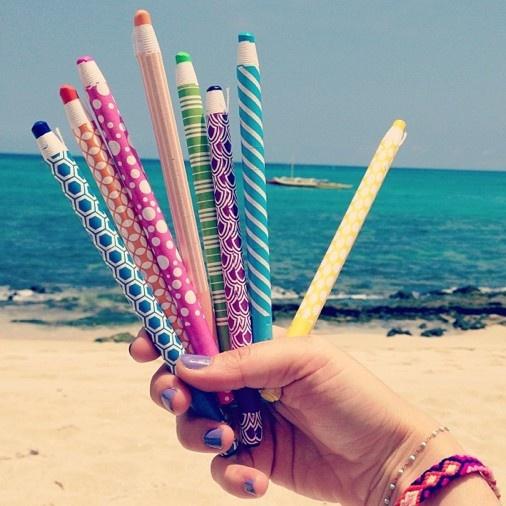 Beach sketching....
