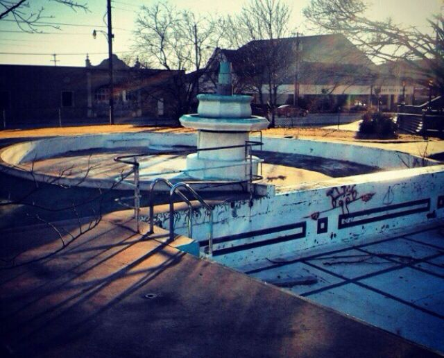The Kids Pool Fountain And The Pool The Baker Hotel Of Mineral W