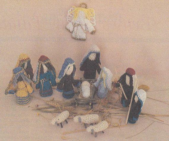 Crochet Patterns Nativity Scene : Nativity Scene Crochet Pattern - Christmas Crochet Patterns