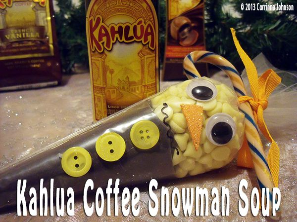 Kahlua Coffee Melted Snowman Soup #homemade #christmas #gifts #snowman ...