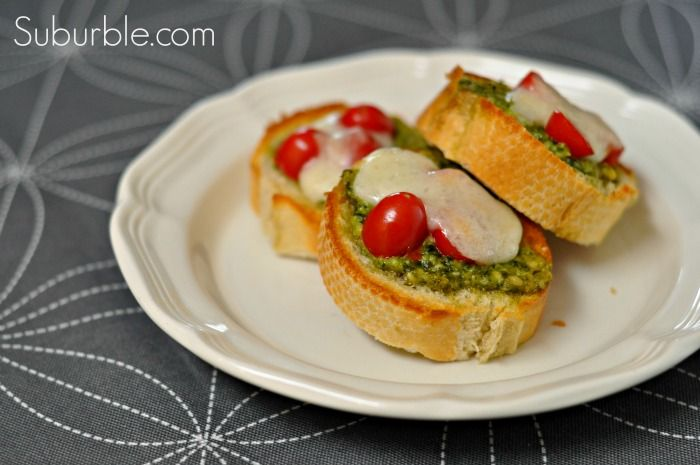 Pesto Veggie Melts Recipes — Dishmaps