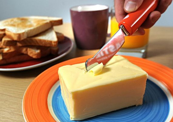 Cuts Through Butter Like A Toastie Knife via @Incredible Things